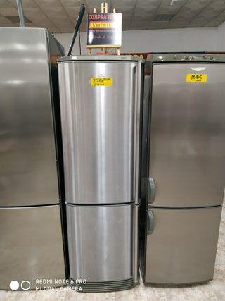 frigorífico combi AEG inox