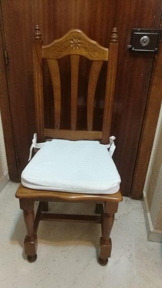 vendo 4 sillas