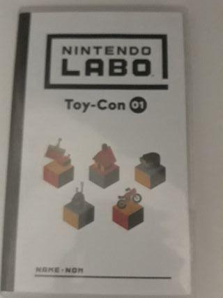 Nintendo Labo: Kit Variado. (Montado)