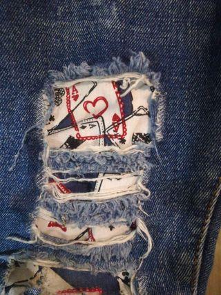 jeans talla 4
