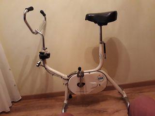 bici estática antigua