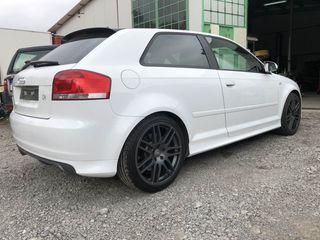 cambio llantas modelo rs4 18 originales Audi