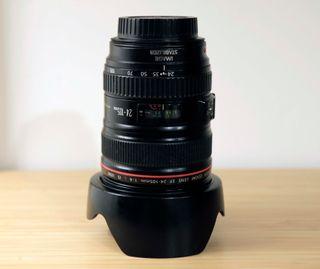 Objetivo Canon EF 24-105mm f/4.0 L IS USM