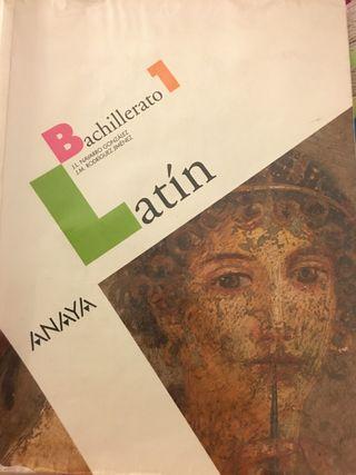 Libro de latín 1bachillerato
