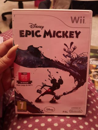 epic mickey wii nuevo