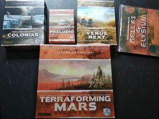 Terraforming mars completo. Precintado