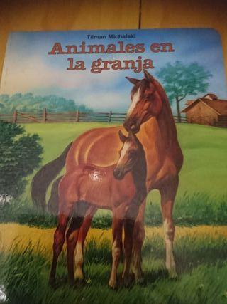 Libro infantil, Animales en la granja
