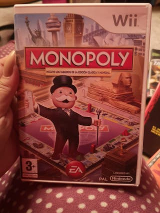 monopoly wii juego