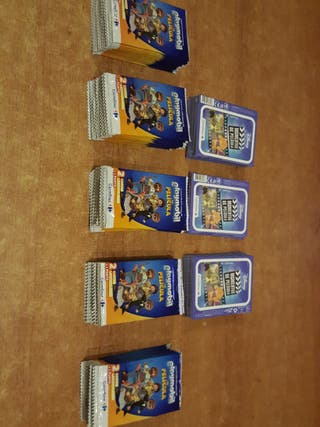 Cromos Disney y Playmobil