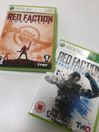 RED FACTION I y II Xbox360