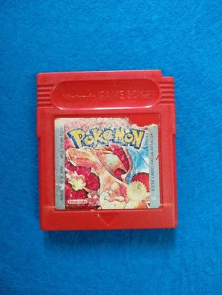 Game Boy - Pokemon Rojo
