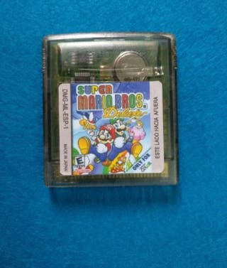 Game Boy Color - Super Mario Bros Deluxe