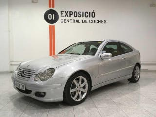 Mercedes Clase C Sportcoupé 220 CDI 150cv Pack Evolution / Cuero Designo --NACIONAL --