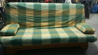 Sofa cama en madera