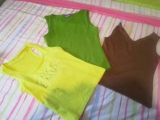 lote camisetas T /S-M
