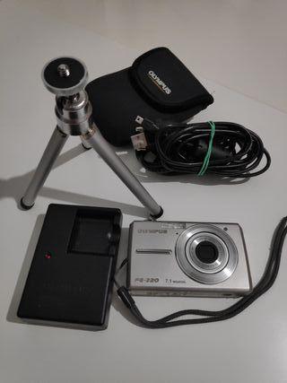 Cámara Fotos y Vídeo Olympus 7.1 Mp