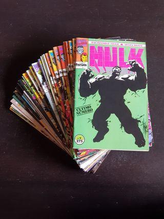 Lote cómics Hulk - Iron Man
