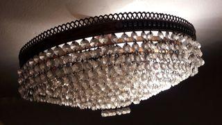 Lámpara de salón comedor lagrimas