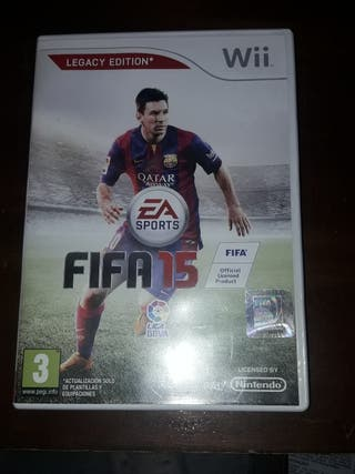 FIFA 15 para wii