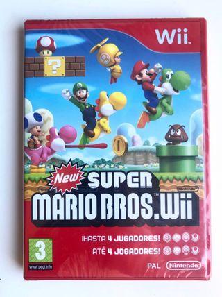 New Super Mario Bros Wii PRECINTADO