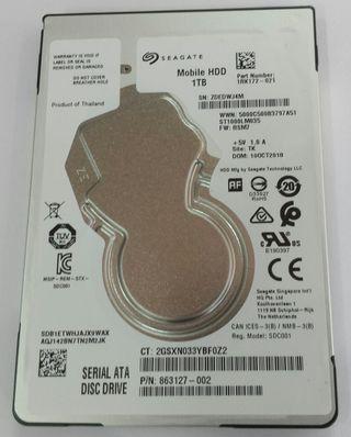 Disco duro 2,5'' - 1TB
