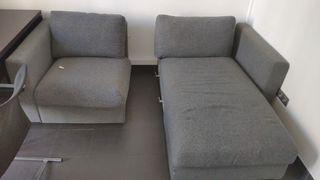sofá chaiselong arcón 2 plazas
