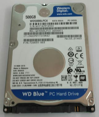 Disco duro 2,5'' - 500GB