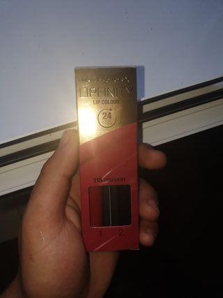 pintalabios max factor rojo