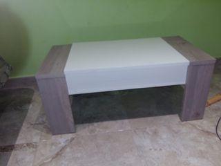 mesa de salón abatible