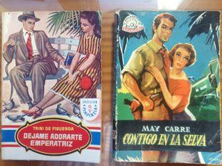 Todo tipo de novelas de bolsillo antiguas