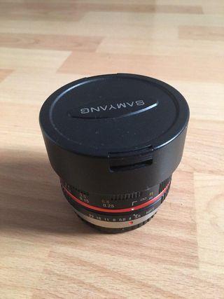 Vendo samyang 8mm f3 / 5 MFT