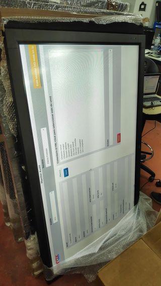 moniitor 65 pulgadas con HDMI marca NEC