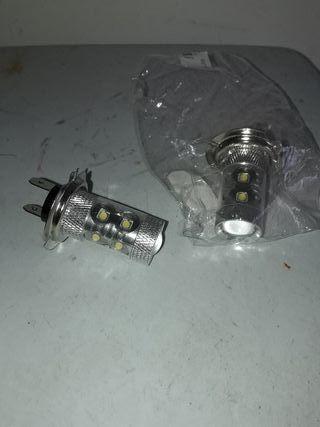 Bombilla h7 led