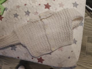 7 jersey rebeca bebe niña nuevo sin usar