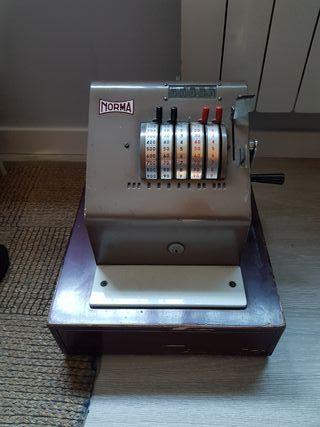 caja registradora antigua , vintage , hypster