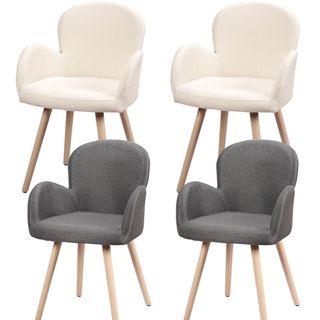 Pack de 2 sillas con estilo nordico