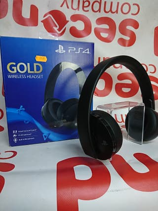 AURICULARES GOLD PS4