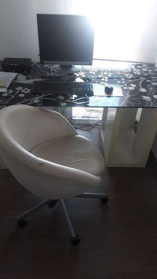 Mesa silla escritorio