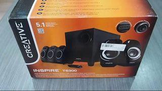 Creative Inspire T6300, 5.1 altavoces PC