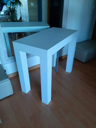 Mesa consola blanca