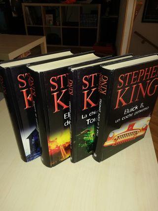 4 libros de Stephen King