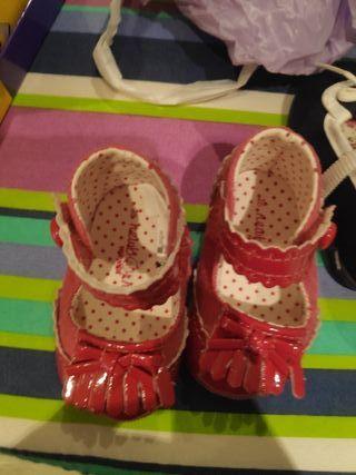 zapatos niña del 16 del 18 y del 20