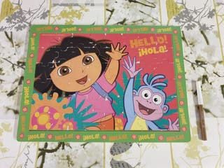 Puzzle madera 48 piezas Dora Ofrecer