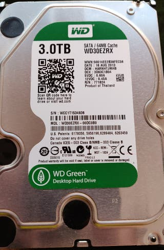 Disco duro Western Digital Green 3TB