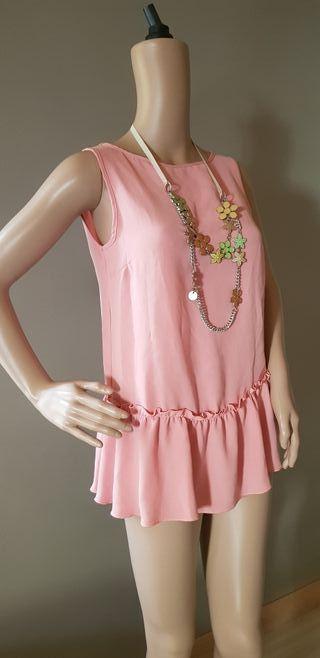 camiseta vestido denny rose con collar
