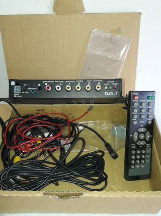 Sintonizador television digital coche