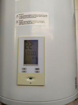 calentador electrico de la marca junker