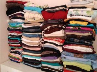 Lote ropa,zapatos,pañuelos,cinturones