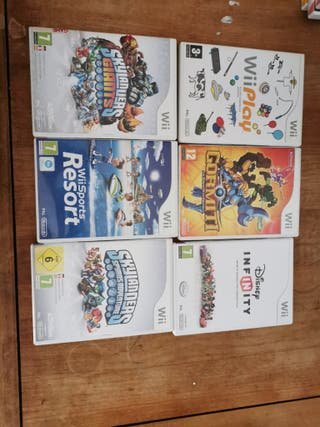 pack Juegos wii