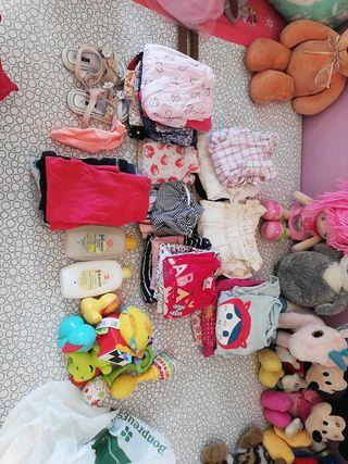 lote ropa bebe niña 6-9 meses